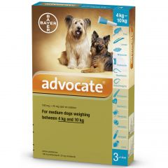 Advocate 100 for Medium Dogs 4 - 10kg