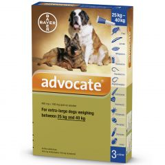 Advocate 400 for Extra Large Dogs over 25kg