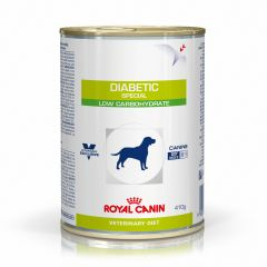 Royal Canin Veterinary Diet Canine Diabetic (Special Low Carbohydrate) Wet 12x410g Can