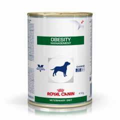 Royal Canin Veterinary Diet Canine Obesity Management Wet 12x410g Can