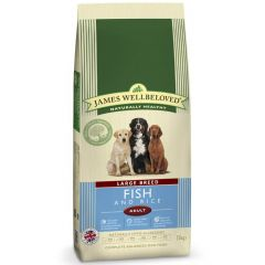 James Wellbeloved Large Breed Adult Dog with Fish & Rice Dry