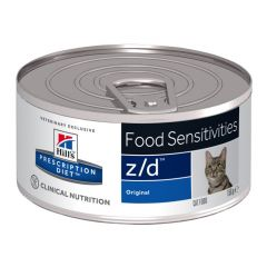 Hills Prescription Diet Z/D Food Sensitivities Feline Wet 24x156g Can