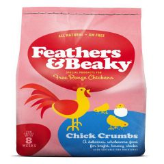 Feathers & Beaky Free Range Chick Crumbs 4kg