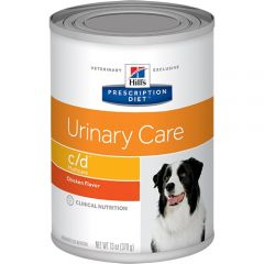 Hills Prescription Diet C/D Urinary Care Canine Wet 12x370g Can