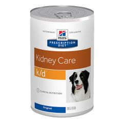 Hills Prescription Diet K/D Kidney Care Canine with chicken Wet 12x370g Can