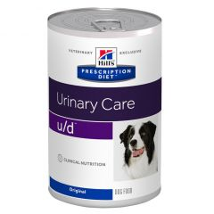 Hills Prescription Diet U/D Urinary Care Canine Wet 12x370g Can