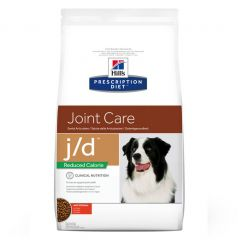 Hills Prescription Diet J/D Joint Care Reduced Calorie Canine with Chicken Dry