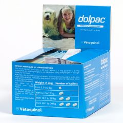 Dolpac Worming Tablet for Dogs - Medium Dog
