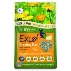 Burgess Excel Feeding Hay with Dandelion and Marigold 1kg