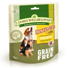 James Wellbeloved Minijacks Grain Free Treats