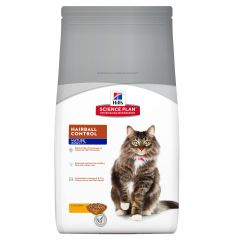 Hills Science Plan Mature 7+ Adult Cat Hairball Control with Chicken Dry 1.5kg