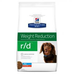 Hills Prescription Diet R/D Weight Reduction Mini Canine with Chicken Dry