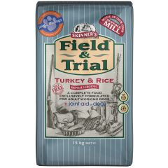 Skinners Field & Trial Working Dog Food with Turkey & Rice Dry