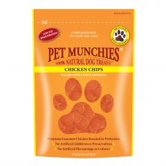 Pet Munchies Chicken Chips Dog Treats 100g