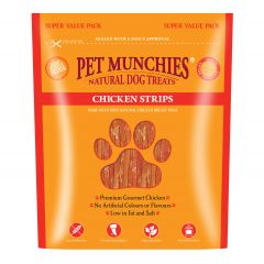 Pet Munchies Strips 320g