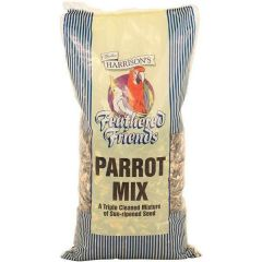 Walter Harrisons Feathered Friends Parrot Mix 15kg
