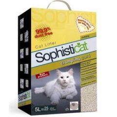 Sanicat Clumping Gold Cat Litter 5L
