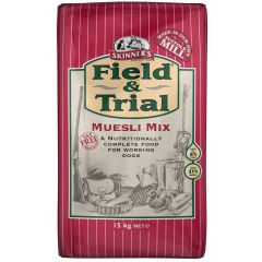 Skinners Field & Trial Muesli Mix Working Dog Food Dry 15kg