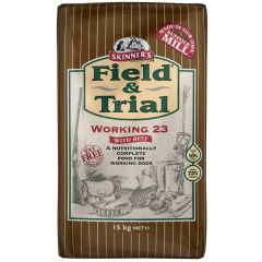 Skinners Field & Trial Working 23 Dog Food with Beef Dry 15kg