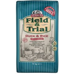 Skinners Field & Trial Duck and Rice Working Dog Food Dry