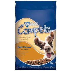 Wafcol Complete Adult Dog with Beef Dry 3kg
