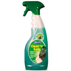 Johnsons Clean N Safe for Small Animals 500ml