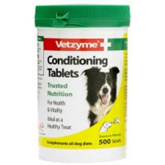 Vetzyme Conditioning Tablets for Dogs