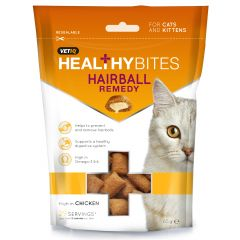 VetIQ Healthy Bites Hairball Remedy Treats for Cats 65g