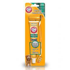 Arm & Hammer Advanced Pet Care Toothpaste & Brush Set - Tartar Control