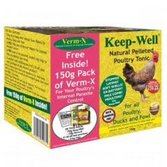 Verm-X Keep Well Poultry Pack