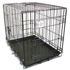Dog Life Double Door Car Crate