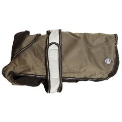 Danish Design 2 In 1 dog Coat Khaki