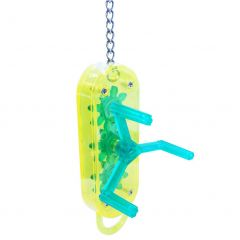 Happy Pet Cog Winder Parrot Toy