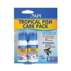 API Tropical Start Up Stress Coat and Stress Zyme 2x30ml