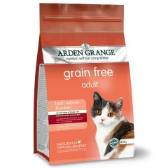 Arden Grange Grain Free Adult Cat with Fresh Salmon & Potato Dry