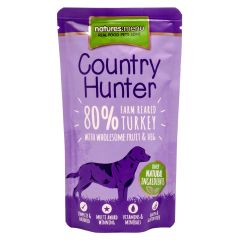 Natures Menu Country Hunter Farm Reared Turkey Dog Food