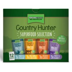 Natures Menu Country Hunter Cat Superfood Selection 12x85g Pouches