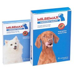 Milbemax Chewable Tablet for Small Dogs and Puppies