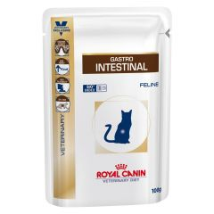 Royal Canin Veterinary Diet Feline Gastro Intestinal Wet 48x100g Pouch
