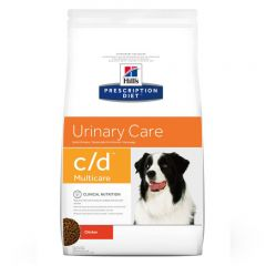 Hills Prescription Diet C/D Urinary Multicare Canine with Chicken Dry