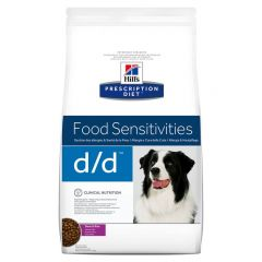 Hills Prescription Diet D/D Food Sensitivities Canine with Duck & Rice Dry