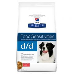 Hills Prescription Diet D/D Food Sensitivities Canine with Salmon and Rice Dry