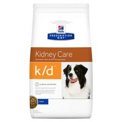 Hills Prescription Diet K/D Kidney Care Canine with Chicken Dry