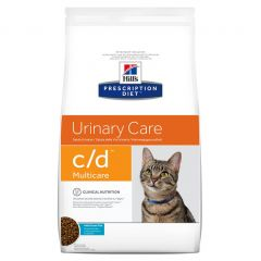 Hills Prescription Diet C/D Urinary Care Multicare Feline with Ocean Fish Dry