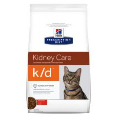 Hills Prescription Diet K/D Kidney Care Feline with Chicken Dry