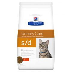 Hills Prescription Diet S/D Urinary Care Feline with Chicken Dry