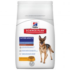 Hills Science Plan Mature Adult Dog 5+ Active Longevity Large Breed with Chicken Dry 12kg