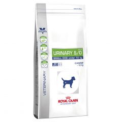 Royal Canin Veterinary Diet Canine Urinary S/O Small Dog Dry (USD 20)
