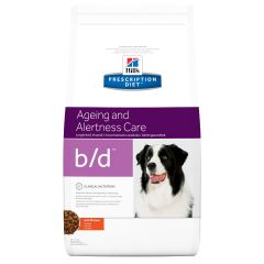 Hills Prescription Diet B/D Ageing and Alertness Care Canine with Chicken Dry 12kg