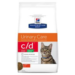 Hills Prescription Diet C/D Urinary Stress Reduced Calorie Feline with Chicken Dry